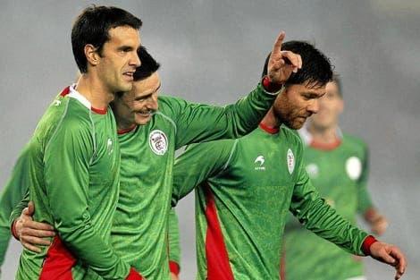 La Selección de Euskadi busca rival fuera de sus fronteras. Foto: EFE