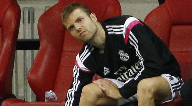 Illarramendi en el banquillo del Real Madrid / Agencias