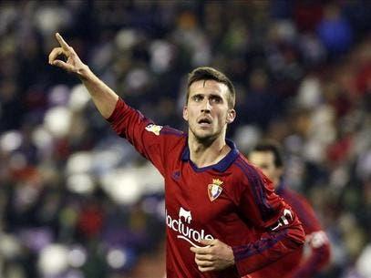 Oier disfrutó de algunos minutos frente al Valencia. Foto: EFE