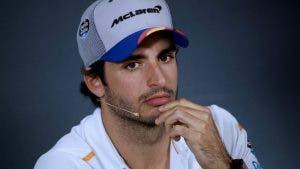 Carlos Sainz muy conservador en el GP  Australia f1