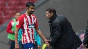 Simeone fija al Atlético el objetivo para fulminar a Diego Costa