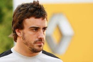 Fernando Alonso se carga a su próximo compañero en Renault F1