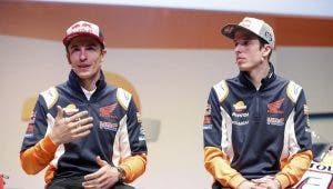 Hermano de Marc Márquez exprime su Honda para humillar a Jorge Lorenzo