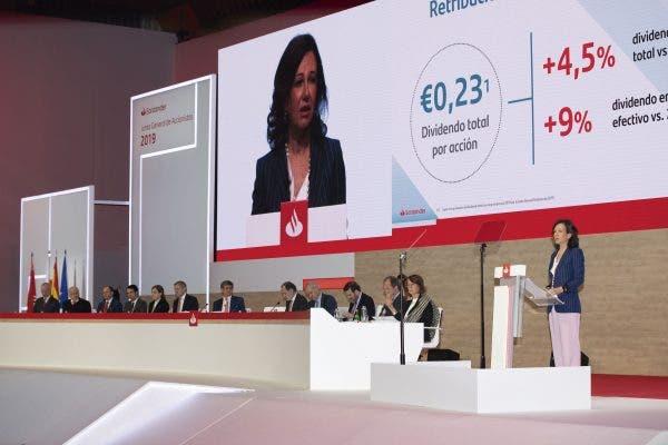 Junta accionistas Santander
