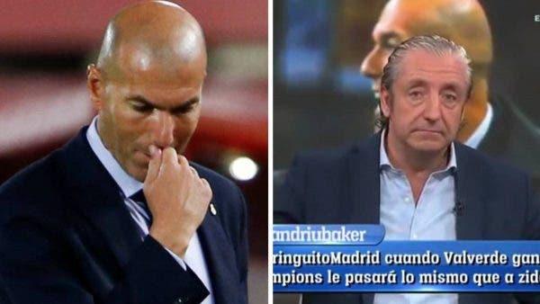Zidane y Pedrerol