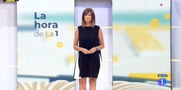 Mónica López en La Hora de la 1