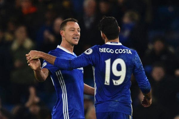 Diego Costa y Terry
