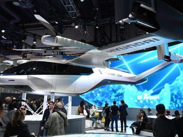 Auto volador creado por Hyundai