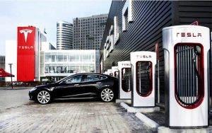 El supercargador de Tesla que permite cargar en tiempo récord