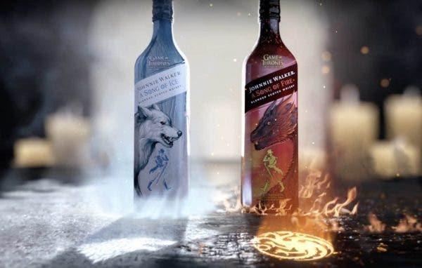 Whisky Escocés Johnnie Walker edición Juego de Tronos