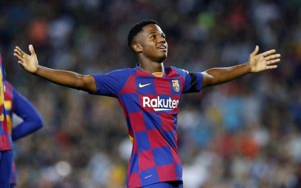 Ansu Fati FC Barcelona