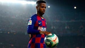 Patrimonio y salario de Ansu Fati en el FC Barcelona