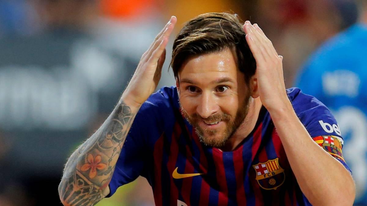 recoed Messi