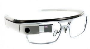 Concepto de smart gafas