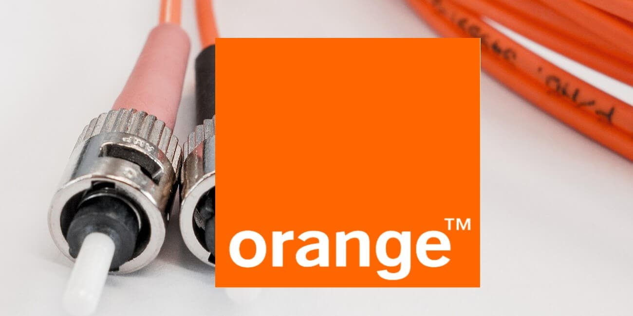 Fibra ótica de Orange