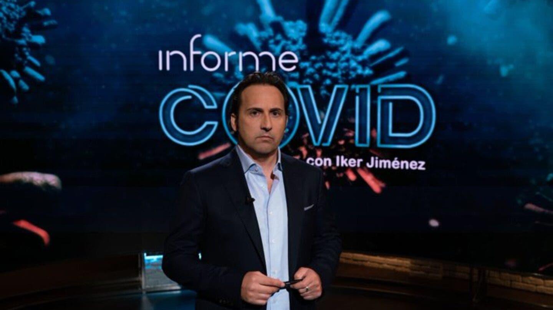 Iker Jiménez Covid