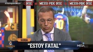 Cristóbal Soria escandaliza El Chiringuito abriendo el corazón