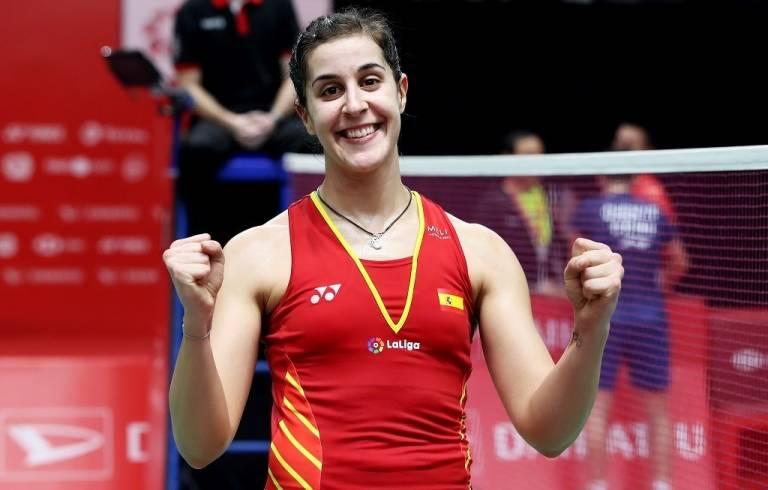Carolina Marín deportista
