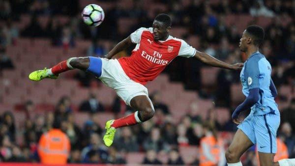 Yaya Sanogo en Arsenal