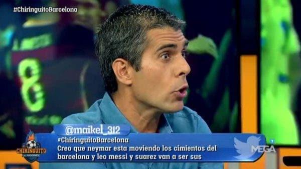 Tema incómodo Chiringuito