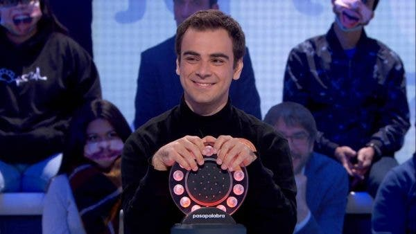 Pasapalabra tendría como ganador a Pablo Díaz