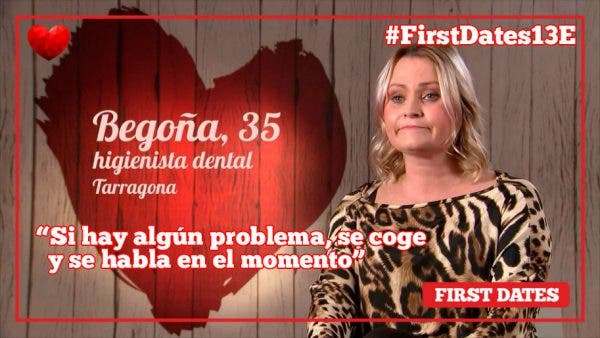 Begoña First Dates