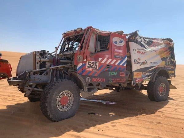 accidente Dakar