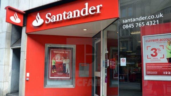 baja Banco Santander