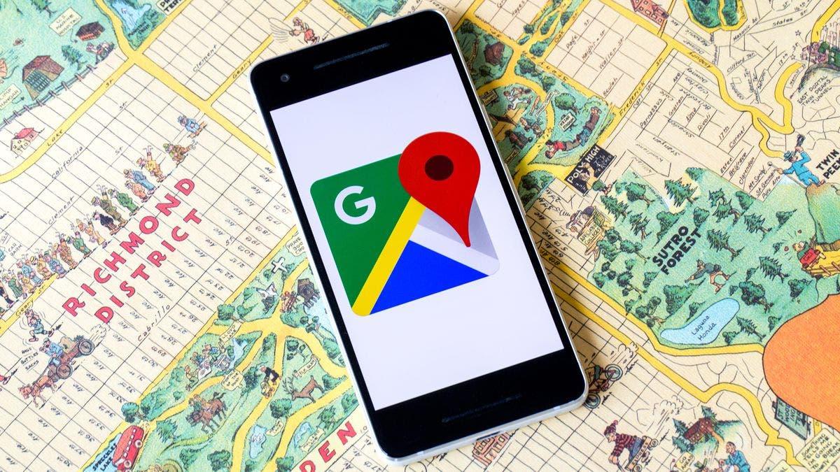 google maps pantalones