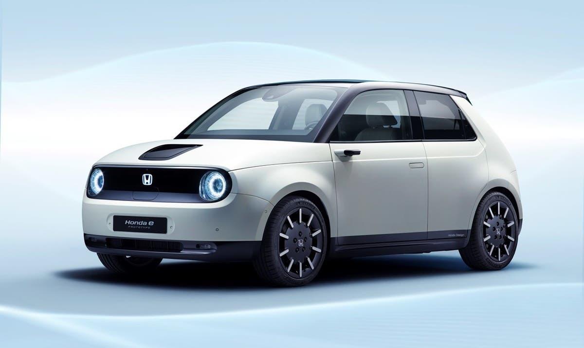 Honda e Fiat500 C Electric