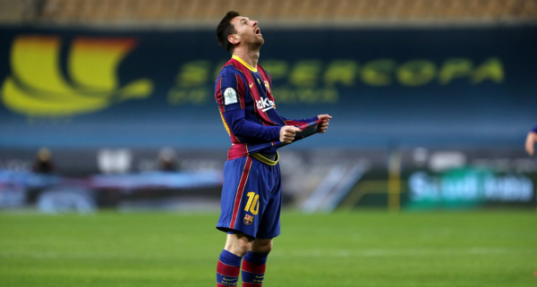 Messi agrede
