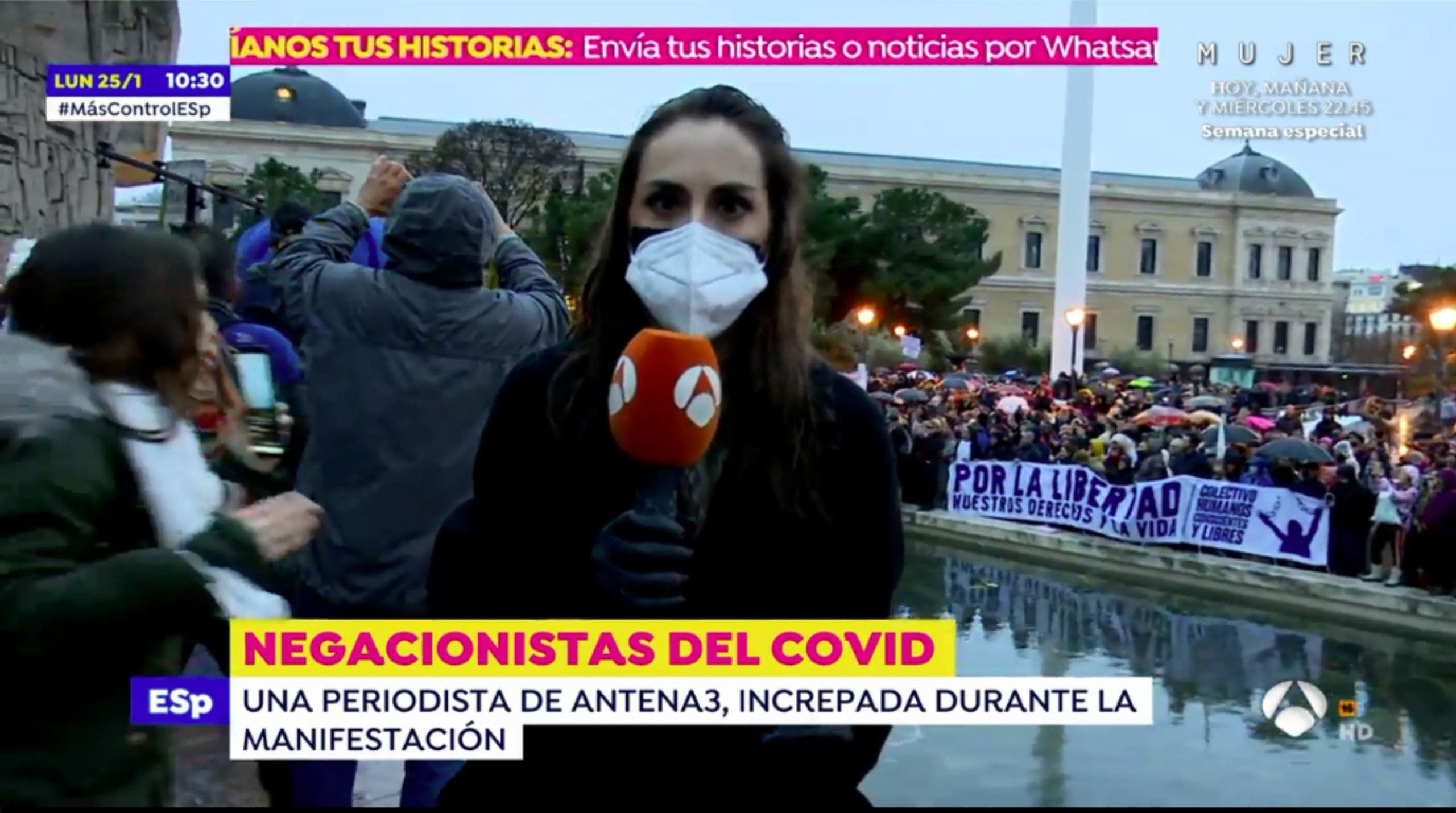 reportera Espejo Público