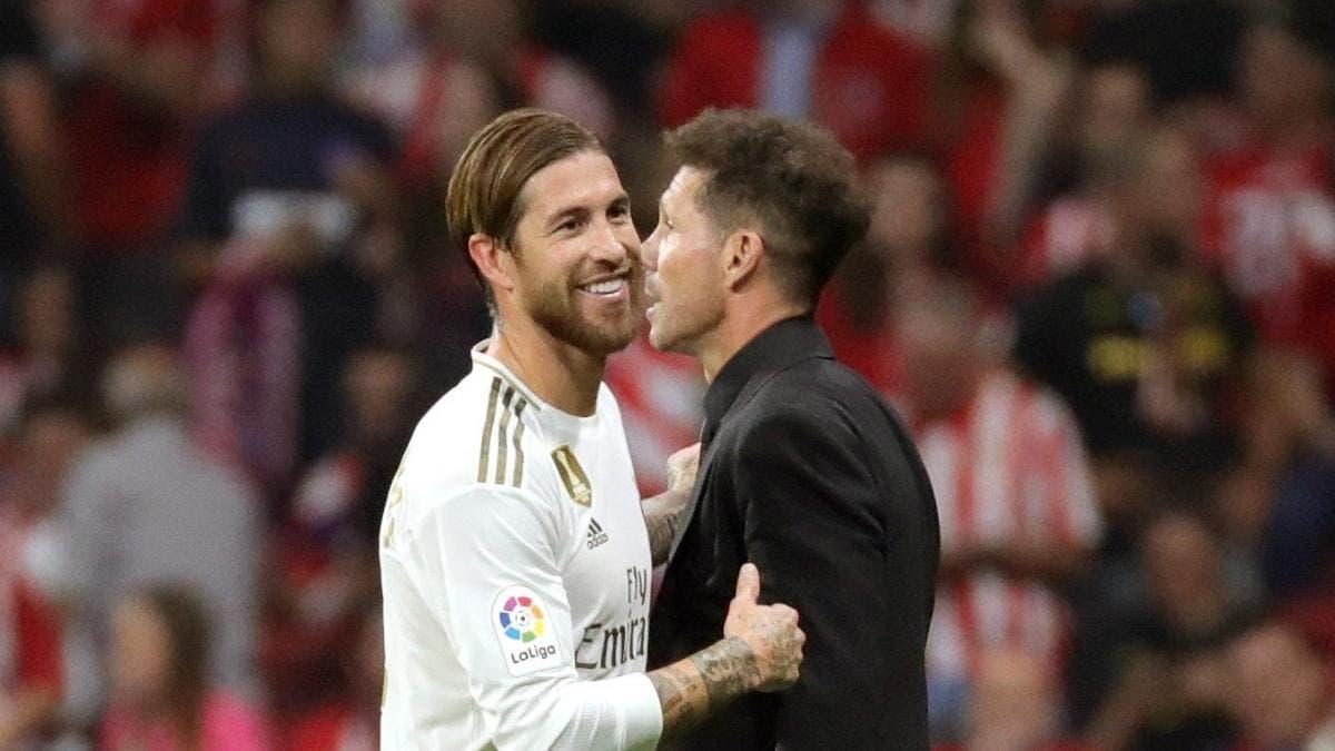 Sergio Ramos Atlético