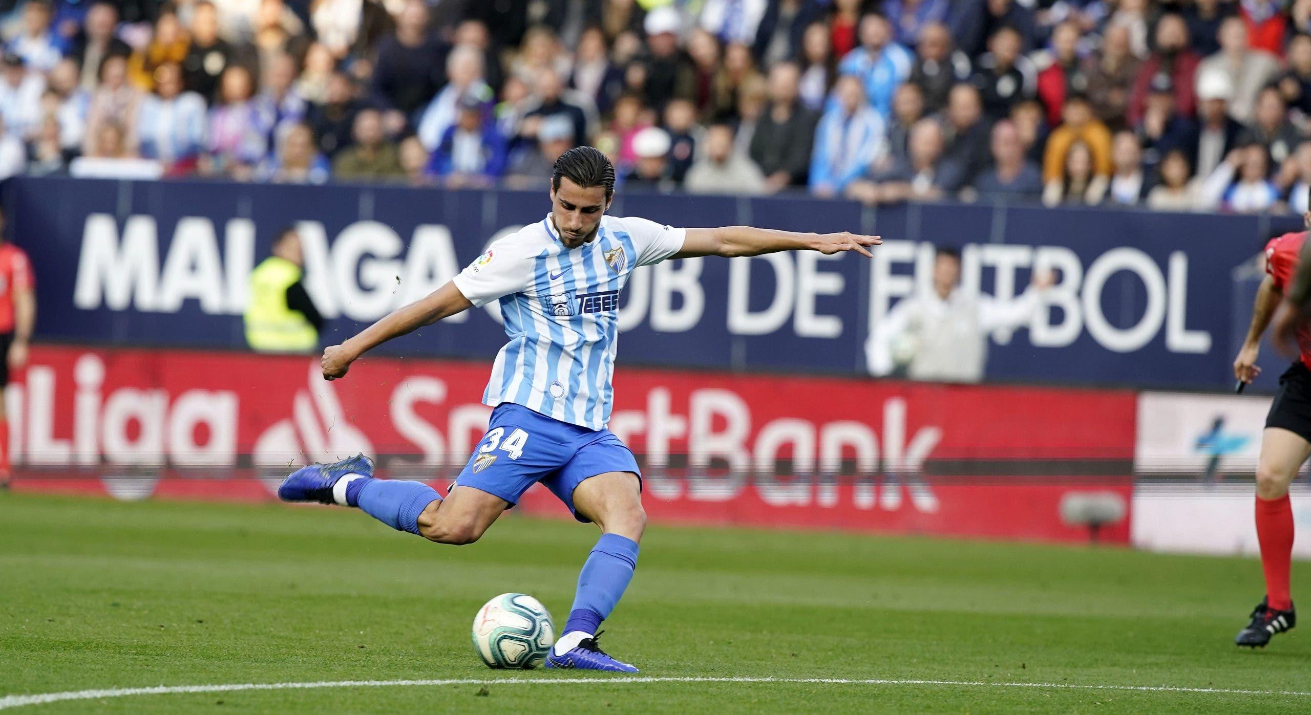 Luis Muñoz del Málaga interesa a varios equipos de LaLiga