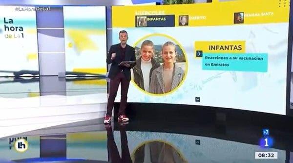 infantas TVE
