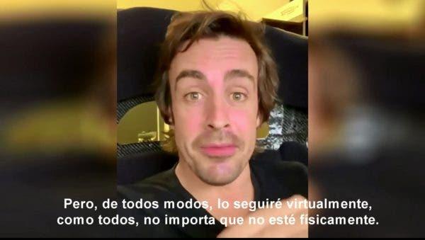 Fernando Alonso dientes