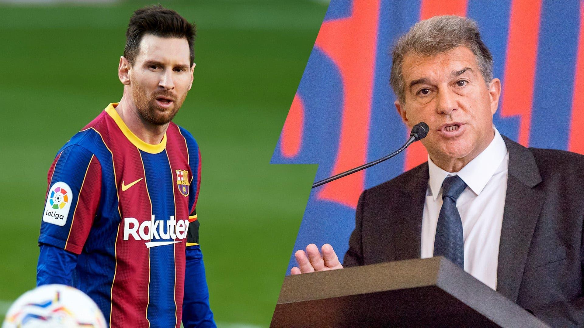 Lista fichajes Messi