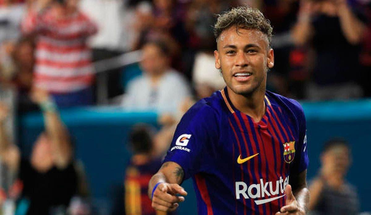 vuelta Neymar