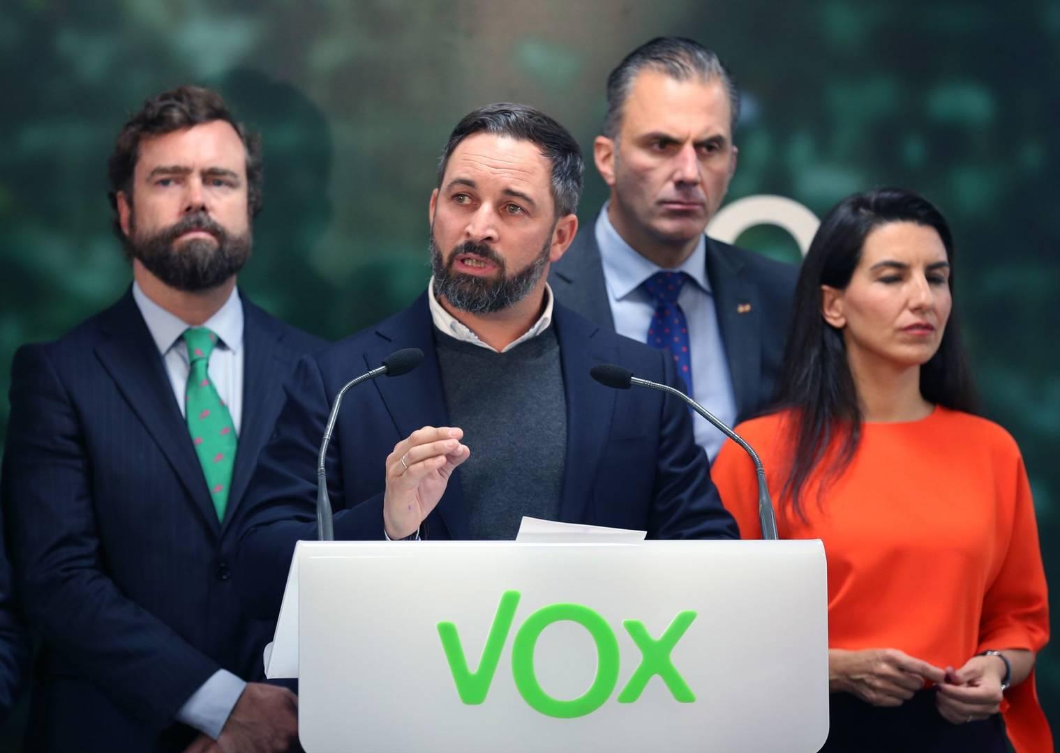 sálvame VOX