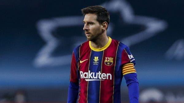 renovación Messi