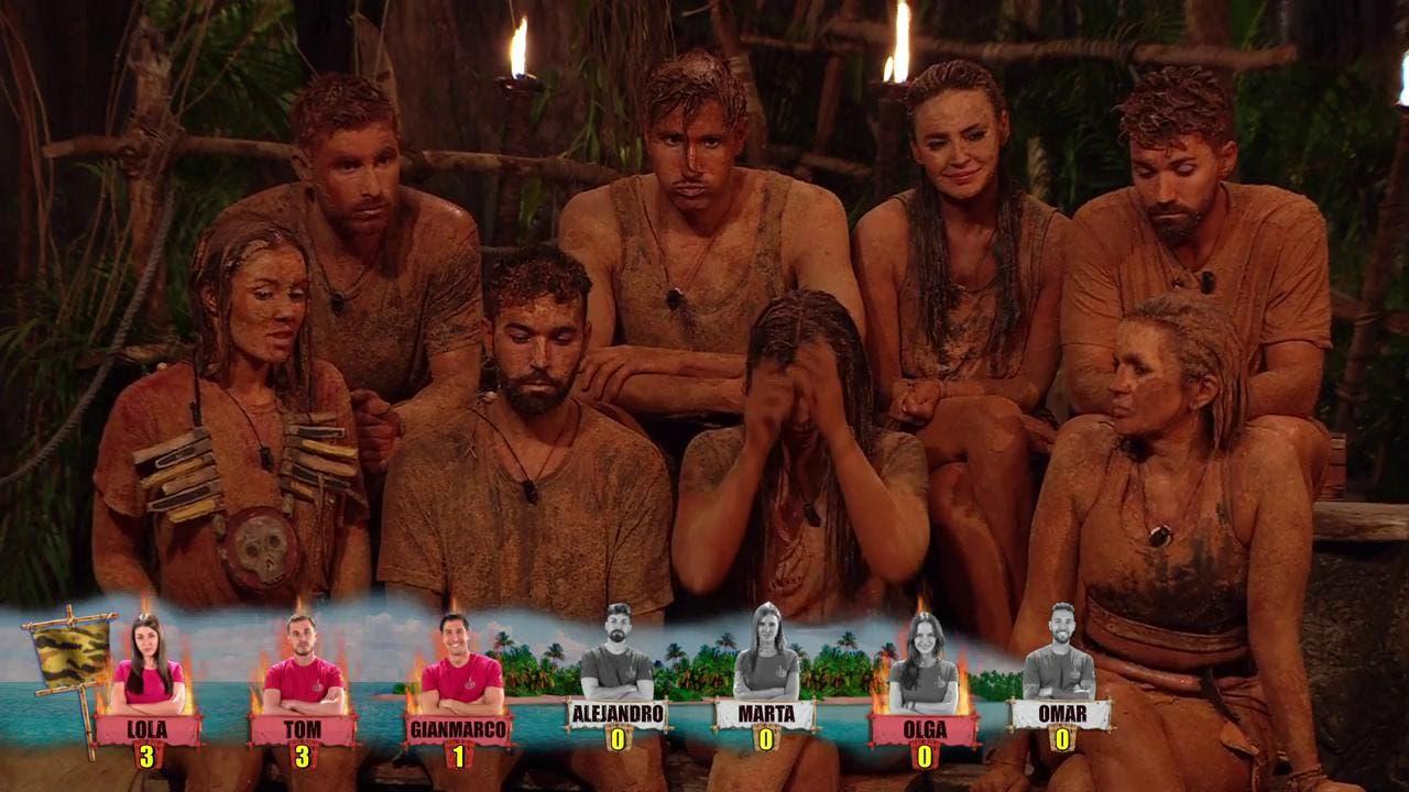 Supervivientes concursantes