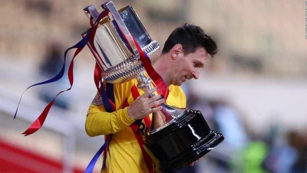 Messi continúa