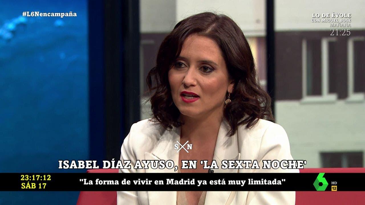 elecciones madrileñas Sexta