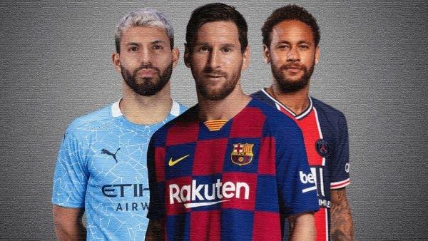 tridente Messi