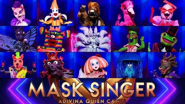 famosos mask singer
