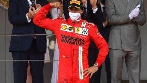 podio Carlos Sainz