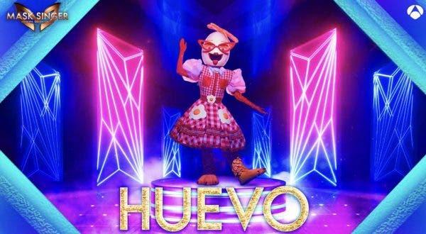 Mask Singer Huevo