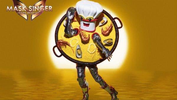 Mask Singer Paella