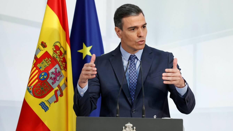Pedro Sánchez inglés