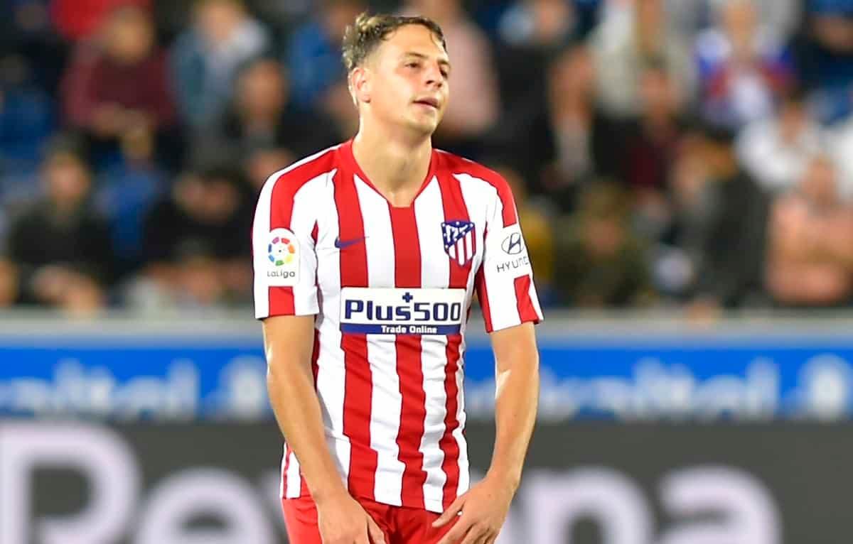 Atlético descarte